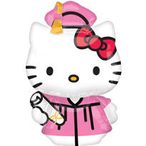 Foil Hello Kitty Graduation Balloon 50in