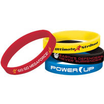 Power Rangers Wristbands 4ct