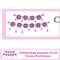 Baby Clothesline Girl Custom Banner