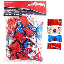 Power Rangers Cream Candies