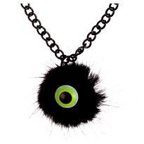 Marabou Eyeball Bracelet