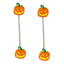 Pumpkin Drop Earrings