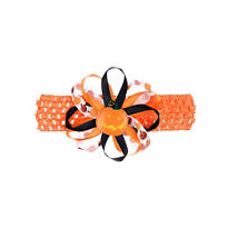 Pumpkin Ribbon Head Wrap