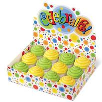 Multicolor Dot Cupcake Box