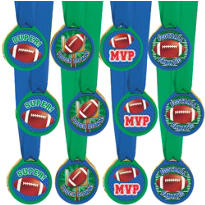 Football Award Medals 12ct