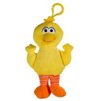 Clip-On Sesame Street Big Bird Plush