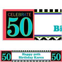 50th Celebration Custom Banner