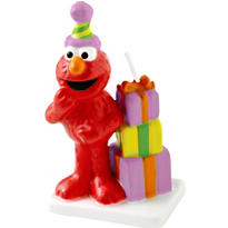 Elmo Birthday Cake Candle 3in