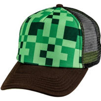 Green Pixel Trucker Hat