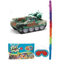Pull String Tank Pinata Kit