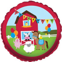Farmhouse Fun Birthday Balloon