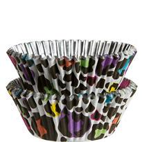 Rainbow Leopard Baking Cups 36ct