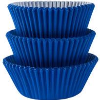 Royal Blue Baking Cups 75ct