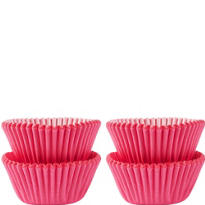 Mini Pink Baking Cups 100ct
