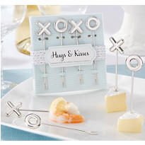 Hugs & Kisses Appetizer Picks