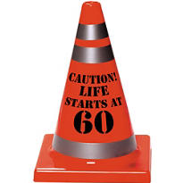 60th Birthday Safety Cone