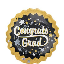 Holographic Congrats Grad Graduation Balloon