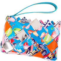 Jolly Rancher Candy Wrapper Wristlet