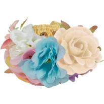 Pastel Floral Wrist Cuffs 2ct