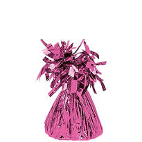 Bright Pink Foil Balloon Weight