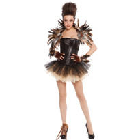 Adult Tutu Night Owl Costume