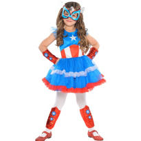 Girls Tutu American Dream Costume