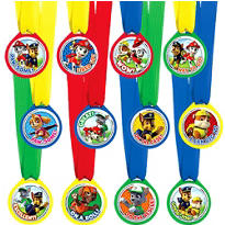 PAW Patrol Award Medals 12ct