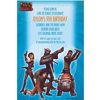 Star Wars Rebels Custom Invitation