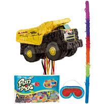 Pull String Tonka Truck Pinata Kit