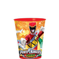 Power Rangers Favor Cup
