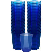 Royal Blue Plastic Cups 72ct