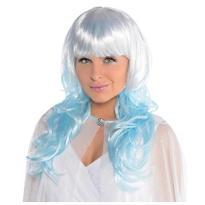 Platinum Shimmer Blue Wig