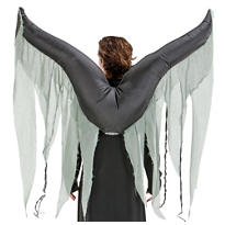 Inflatable Dark Angel Wings