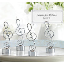 Treble Clef Place Card Holder