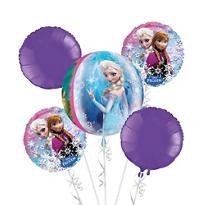 Frozen Balloon Bouquet 5pc - Orbz