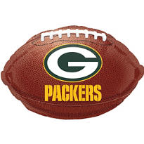 Green Bay Packers Foil Balloon 18in