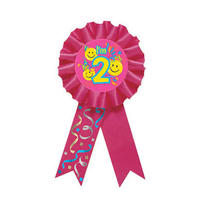 Smile 2nd Birthday Award Ribbon