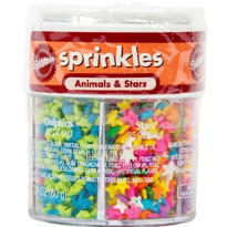 Animal and Star 6-Mix Sprinkles 2.1oz