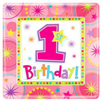 One-Derful Girl's 1st Birthday Party Supplies