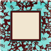 Cocoa Floral Party Supplies