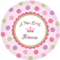 Little Princess Baby Shower Party Supplies