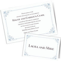 Custom 25th Anniversary Invitations & Thank You Notes