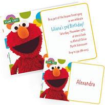 Custom Sesame Street Invitations & Thank You Notes