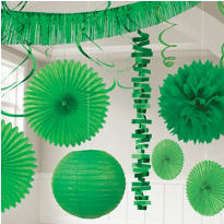 Festive Green Decorations