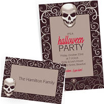 Custom Halloween Invitations & Thank You Notes