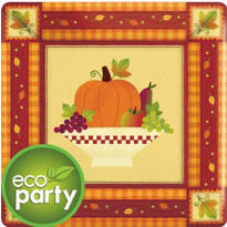 Autumn In The Country Eco-Friendly Party Supplies