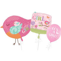 Tweet Baby Girl Balloons