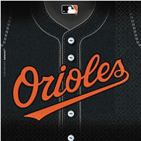 Baltimore Orioles Party Supplies