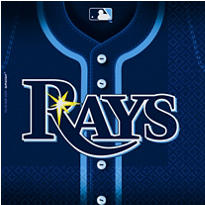 MLB Tampa Bay Rays Party Supplies