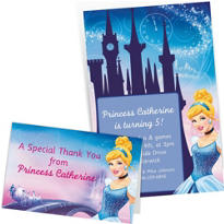 Custom Cinderella Invitations & Thank You Notes